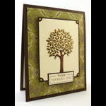Father's Day Tree Card