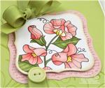 Debbie Olson - Year of Flowers: Sweet Peas