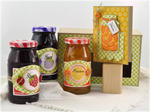 Jam and Marmalade gift set open