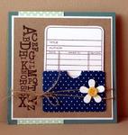 Kim Hughes - Library Card