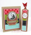 card and bookmark gift set