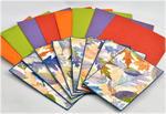 Backgrounds and leaf images for Leaf Prints set