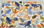 Leaf Prints stamped sheet