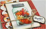 Thankful for You Jar detail
