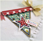 Fourth of July Banner Detail 3