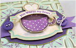 You Warm My Heart Cocoa Holder Card detail
