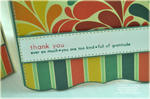 Detail from Simple Sentiments Thank You card