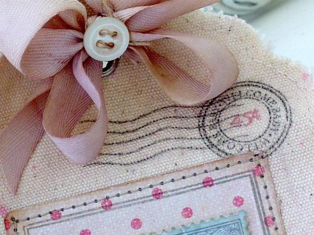 Welcome Baby Tag and Envelope