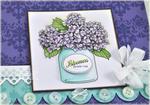Fresh Flowers Shadow Box detail