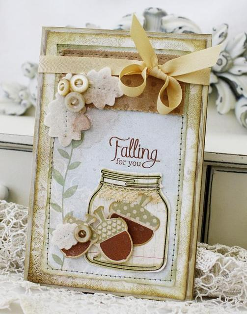 Falling for You card