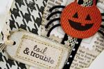Toil & Trouble card and treat box