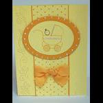 Pierced Baby Buggy card