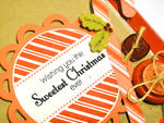 Sweet Christmas Card - detail