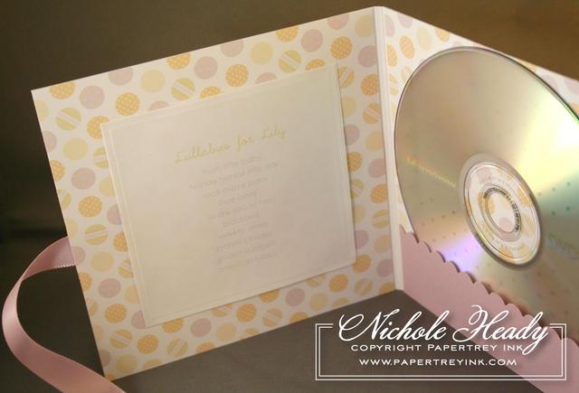 Lullaby Album interior