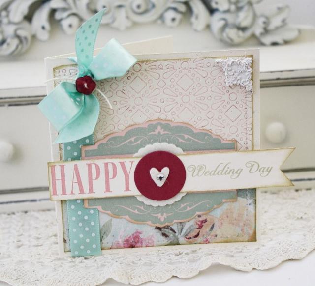 Happy Wedding Day card