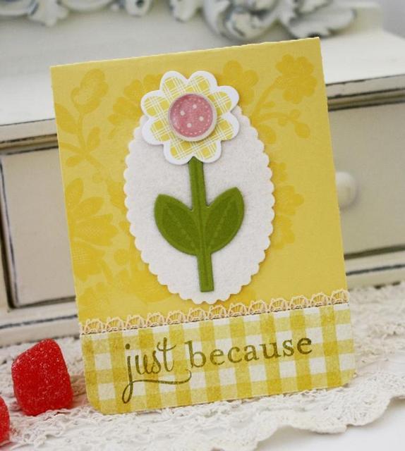 Just Because card set
