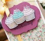 Happy Birthday Cupcakes Detail