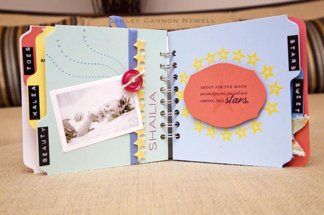 Baby Star Mini Album Page 6-7