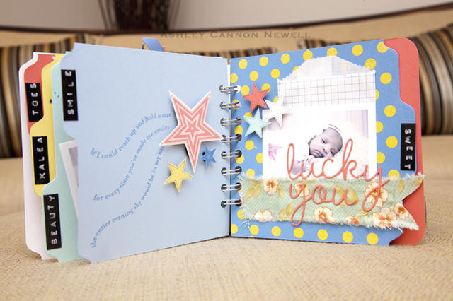 Baby Star Mini Album Page 8-9