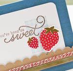 Berry Sweet card detail