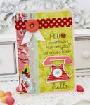 Hello Sweet Friend! Card
