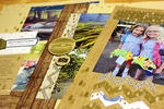 Summer Camp Scrapbook Pages