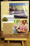 Roughing It Scrapbook Page