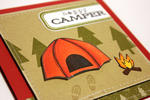 Happy Camper Card - detail