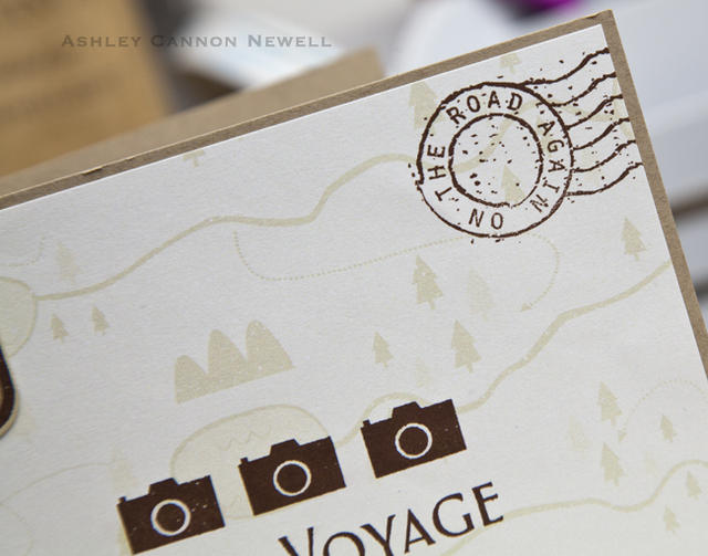 Bon Voyage Card Detail