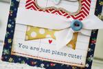 Plane Cute Card