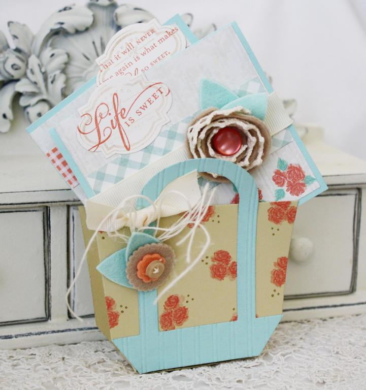 Life is Sweet Mini Cards and Favor Box