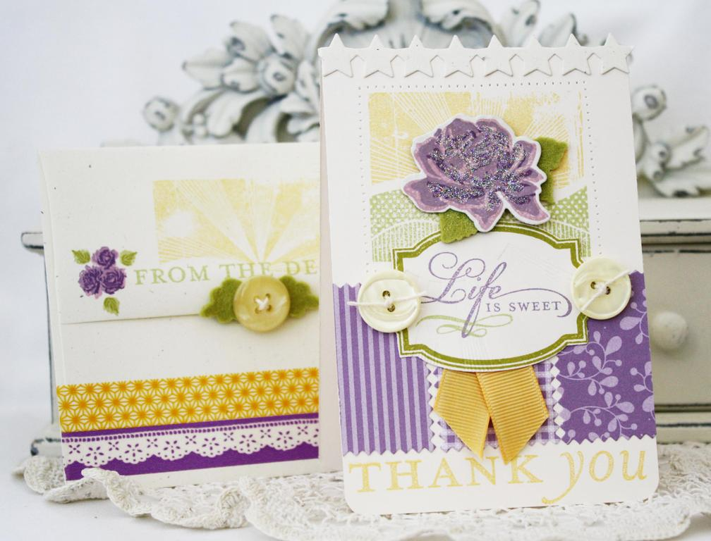 Life is Sweet Card and Envelope