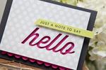 Ashley Cannon Newell - Wonderful Words: Hello