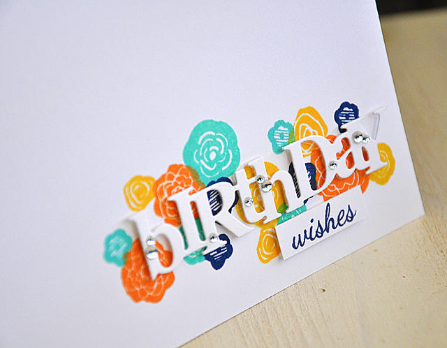 Birthday Wishes Card Detail
