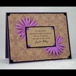 Amy Rysavy - To One Person Card