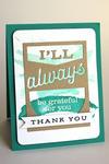 Grateful Thanks Card