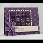 Amy Rysavy - Marriage Card