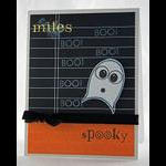 Spooky Ghost Wise Owl