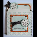 Hand Stitched Pocket Card