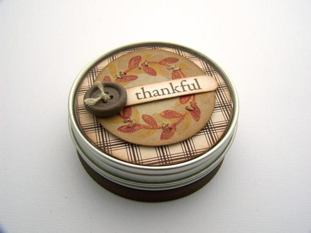 Thankful Tin