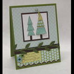 Merry & Bright Christmas Tree Card