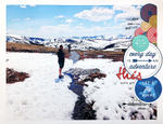 Everyday is an Adventure scrapbook layout