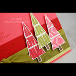 Merry & Bright Christmas Card close up