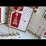 'O Christmas Tree Holiday Card Set w/envelopes