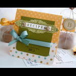 Melissa Phillips - Recipe Box and Recipe Box Label