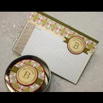 "4"" x 6"" Recipe Card and Matching Tin (to hold Spice Tea Mix)"