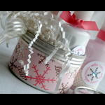 Snowfall Winter Gift set - container