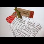 Heather Nichols - Recipe Box & Recipe Box Label