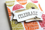 Celebrate Your Birthday Card - detail