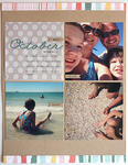 October Moments at the Beach Layout